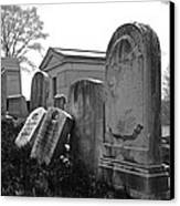 Historic Cemetery Canvas Print