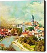 Historic Centre Of Cesky Krumlov Canvas Print