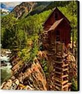 Historic Colorado Canvas Print by Adam Jewell
