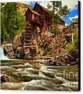 Historic Colorado Landscape Canvas Print