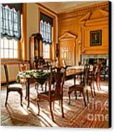 Historic Governor Council Chamber Canvas Print by Olivier Le Queinec