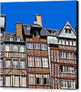 Historic Rennes Canvas Print by Jane Rix