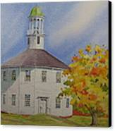 Historic Richmond Round Church Canvas Print