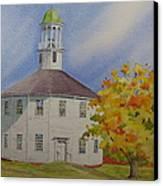 Historic Richmond Round Church Canvas Print
