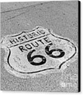 Historic Route 66 Canvas Print by Kay Pickens
