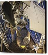 History Of Flight Canvas Print by Akos Kozari