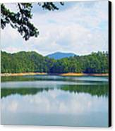 Hiwassee Lake Canvas Print by Robert J Andler