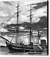 Hms Bounty Singer Island Canvas Print by Debra and Dave Vanderlaan