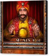 Hobby - Have Your Fortune Told Canvas Print by Mike Savad