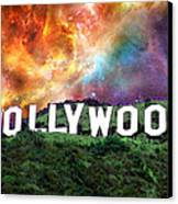 Hollywood - Home Of The Stars By Sharon Cummings Canvas Print by Sharon Cummings