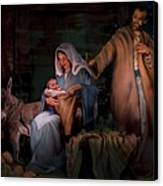 Holy Child Canvas Print by Jean Hildebrant