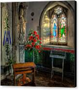 Holy Ground Canvas Print by Adrian Evans