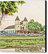 Holy Rosary Church Canvas Print