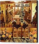 Holy Saturday At St Mary Magdalen Church 2 Canvas Print by Sarah Loft
