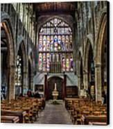 Holy Trinity Canvas Print by Trevor Wintle