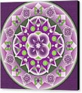 Holy Week Mandala Canvas Print by Linda Pope