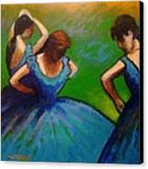Homage To Degas II Canvas Print