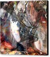 Homage To Janet Canvas Print by Judy Paleologos