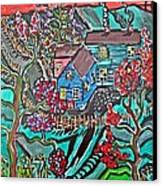 Home Canvas Print by Matthew  James