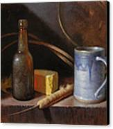 Homestead Beer And Cheese Canvas Print by Timothy Jones