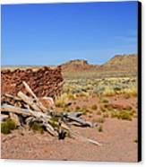 Homolovi Ruins State Park Arizona Canvas Print by Christine Till