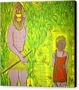Honey I Am Home Canvas Print by Adriana Garces