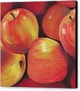 Honeycrisp Apples Canvas Print by Anastasiya Malakhova
