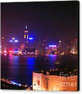 Hong Kong Skyline Canvas Print by Pixel  Chimp