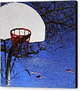 Hoop Dreams Canvas Print by Jason Politte
