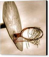 Hoop Canvas Print by Steve Ratliff