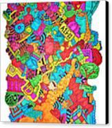 Hooya Canvas Print by Chelsea Geldean