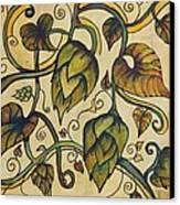 Hop Melody Canvas Print by Alexandra Ortiz de Fargher