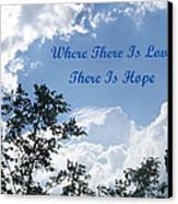 Hope Canvas Print by Aimee L Maher Photography and Art Visit ALMGallerydotcom