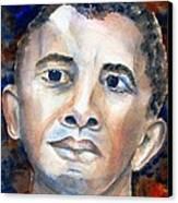 Hopeful - President-elect Canvas Print by Carlin Blahnik