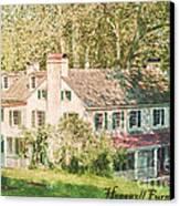 Hopewell Furnace In Pennsylvania Canvas Print
