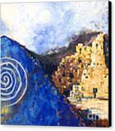 Hopi Spirit Canvas Print by Jerry McElroy