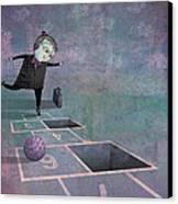 Hopscotch2 Canvas Print
