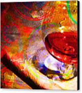 Hors D Age Cognac And Stogie Canvas Print by Wingsdomain Art and Photography