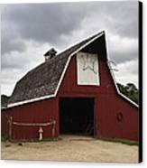 Horse Barn Canvas Print