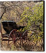 Horse-drawn Buggy Canvas Print by Kathleen Bishop