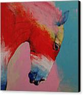 Horse Canvas Print by Michael Creese