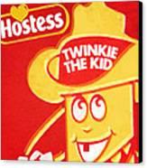 Hostess Twinkie The Kid Canvas Print by Tony Rubino