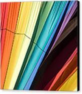 Hot Air Balloon Rainbow Canvas Print