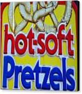 Hot Pretzels Canvas Print by Skip Willits