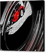 Hot Rod Hubcap Canvas Print by motography aka Phil Clark
