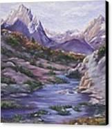 Hot Springs Canvas Print