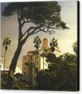 Hotel California- La Jolla Canvas Print by Steve Karol