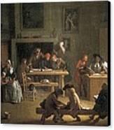 Houassemichel-ange 1680-1730. Interior Canvas Print by Everett