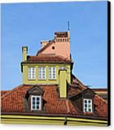 House Attic Canvas Print