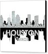 Houston Tx 4 Canvas Print by Angelina Vick